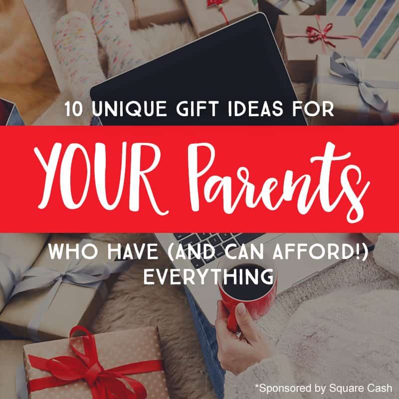 10 Unique Gift Ideas for YOUR Parents -- Who Have (And Can Afford ...