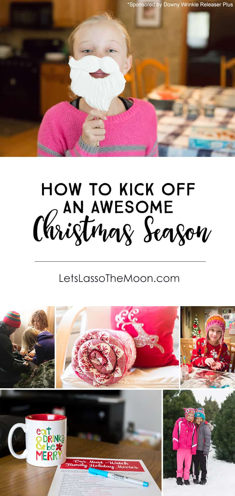 Wonderful family holiday traditions for kickstarting the Christmas season. *Love the movie list in this post!