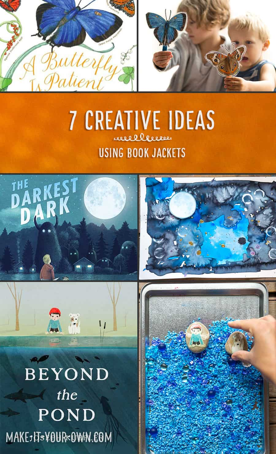 Book Cover Project Ideas : Creative and unexpected ideas for book jackets