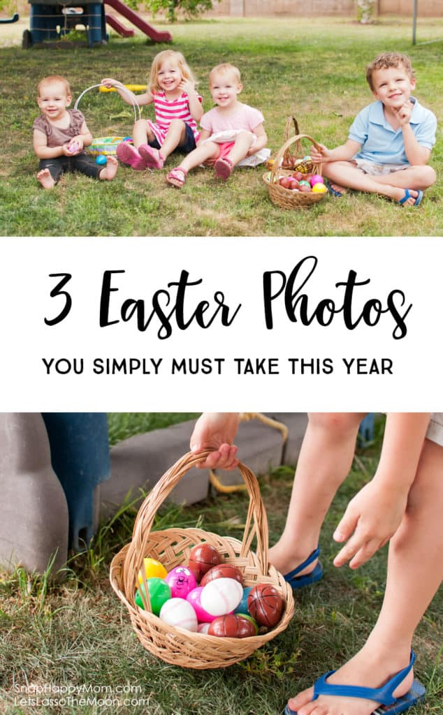 3 Easter Photos of the Kids You Simply Must Take - Parent Photography 101 *Loving this free spring photography checklist too