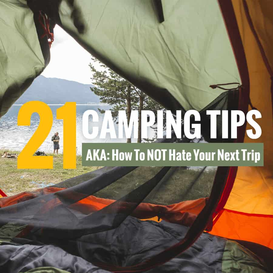 This list of family camping tips is a must-read for parents planning an outdoor vacation. *So simple and brilliant. Saving this for our summer trip.