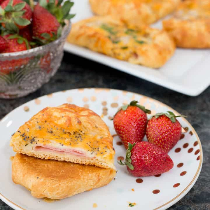 Ham & Cheese Crescent Puffs