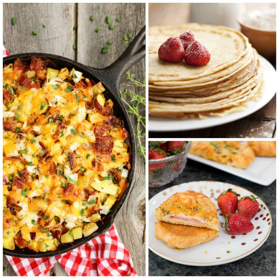 30+ Brunch Recipes - Perfect for parties, celebrating the holidays, or enjoying a lazy weekend at home with your family *Loving this family-friendly list of ideas for menu planning