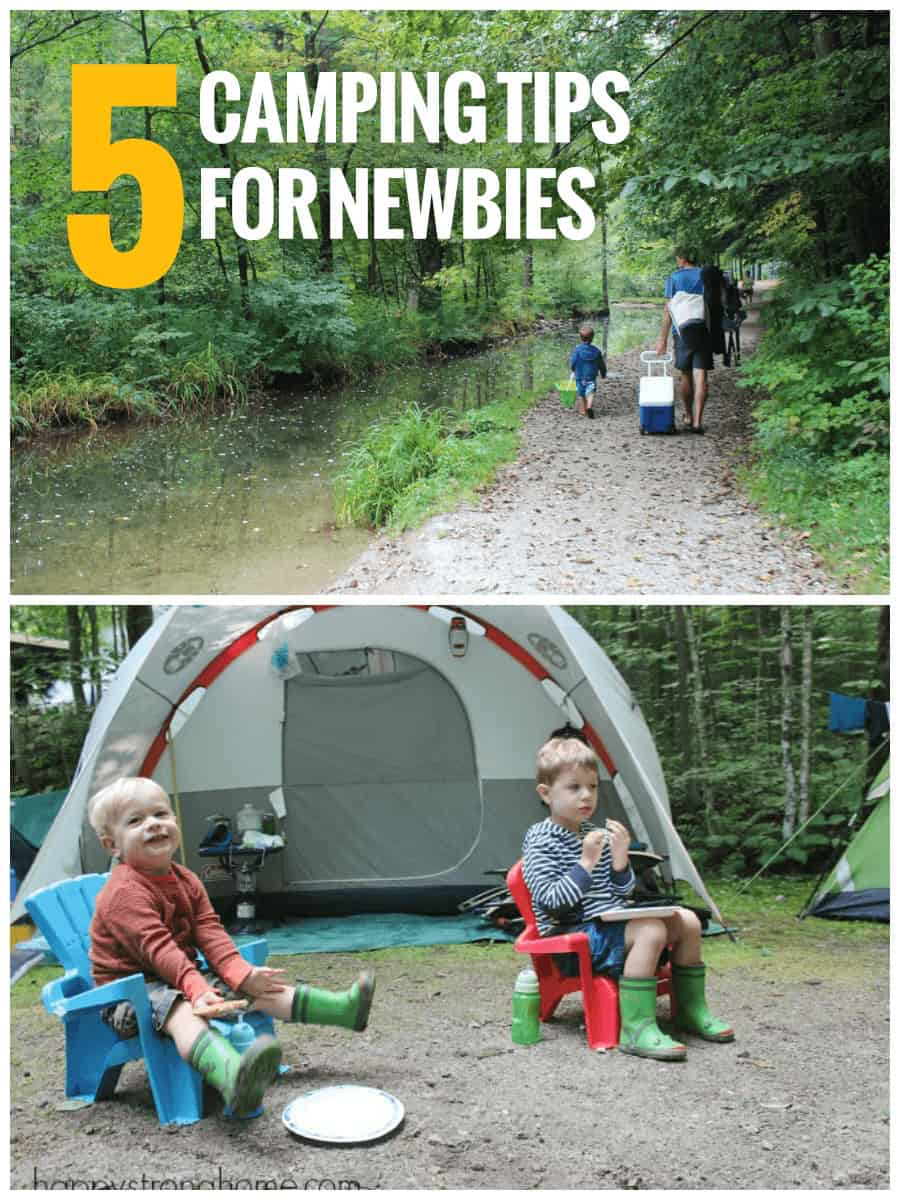 Planning your first adventure? This list of family camping tips is a must-read for parents planning an outdoor vacation. *Great suggestions