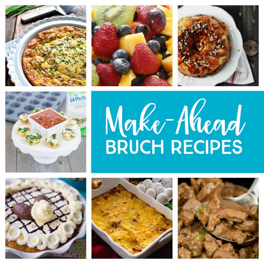 Make-Ahead Breakfasts for Thanksgiving. When it comes to Thanksgiving, nailing the perfect bird is stressful enough. Throw in a crew of brunch-loving houseguests and it's enough to make you cry Uncle. These make-ahead brunch dishes will satisfy every relative under your roof so you can get back to focusing on the biggest dinner of your year.