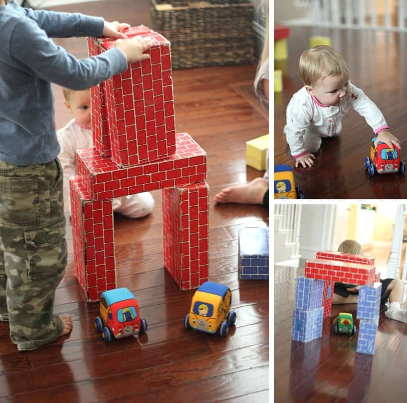 75 Screen-Free Activities: Build a block tunnel *Loving this list of family-friendly ideas. A great parent resource for summer.