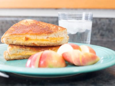 I'm going to be blunt, you're making grilled cheese sandwiches all wrong and you need to stop. Once you've gone Inside-Out, you'll never go back to a standard grilled cheese sandwich again. I promise--It'll be love at first bite.