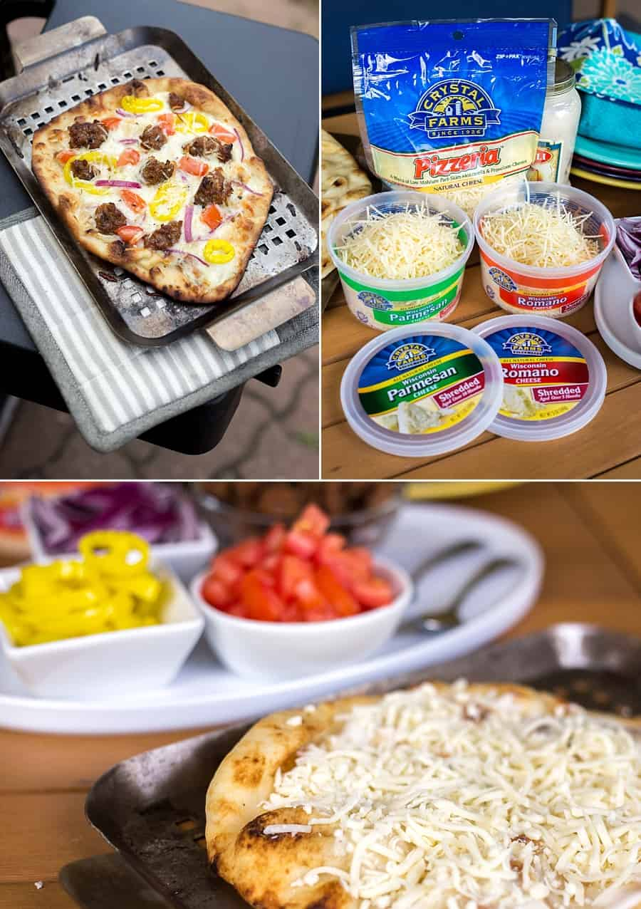 Grilled Pizza 101: This Simple Grilled Pizza Hack is Insanely Delicious *Love this easy idea and recipe. My husband and kid love these topping combos. Love the idea of calling it a Pizza Party.