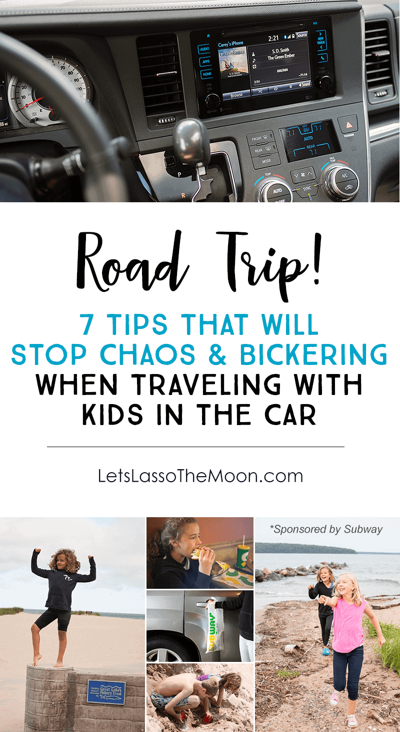"7 Parent-to-Parent Tips That Will Stop CHAOS When Traveling With Children In the Car *Saving these ideas for our summer family road trip with the kids. Love this tip: STOP when you see water. There is truly something therapeutic and refreshing about water. If you pass a shoreline or a park near a lake, pull over! Simply set a timer on your phone and say, ""We've got 8-minutes to enjoy this awesomeness. Let's go!"" The unexpected and sudden adventure is sure to revive your kids' attitude."