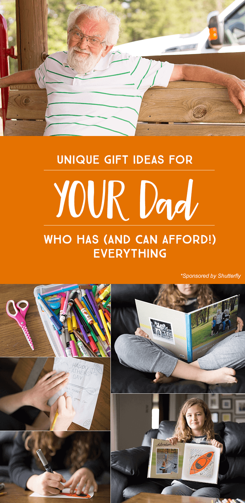 3 Unique Father's Day Gifts for YOUR Dad — Who Has (and Can Afford!) Everything *I love these different present ideas, so unique