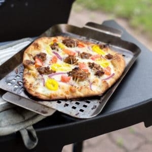 This Simple Grilled Pizza Hack Is Insanely Delicious
