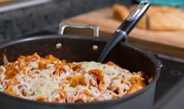 Dinner's on the Table in 20 Minutes With This Cheesy, One-Pot Stovetop Lasagna