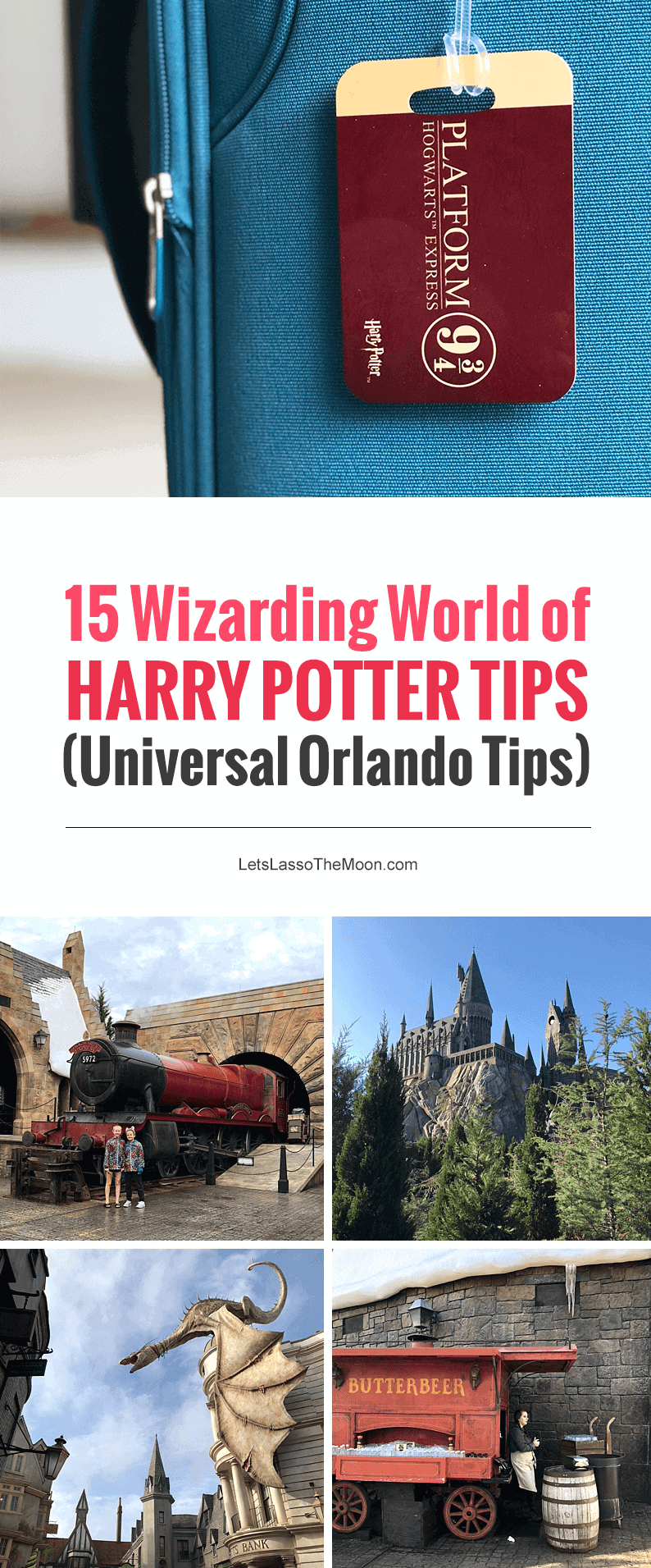 Wizarding World of Harry Potter Tips - Universal Orlando Tips: Should you get the Universal Express Pass? Compare Universal hotels and more. Great mom-to-mom tips for planning your family vacation to Orlando. #HarryPotterWorld #UniversalStudios #UniversalOrlando #FamilyTravel #Orlando #Florida *Pinning this REAL parent advice for our trip! So helpful.