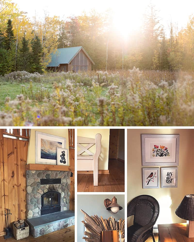 How to create a cohesive art collection and wall gallery for your cottage #wallgallery #cottage #artprints *loving all of these tips