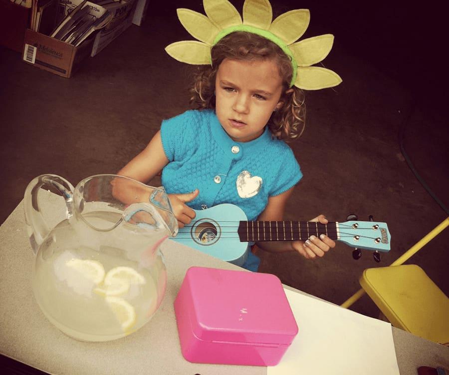 If your kids are hosting a lemonade stand, skip the powder and make homemade lemonade instead.