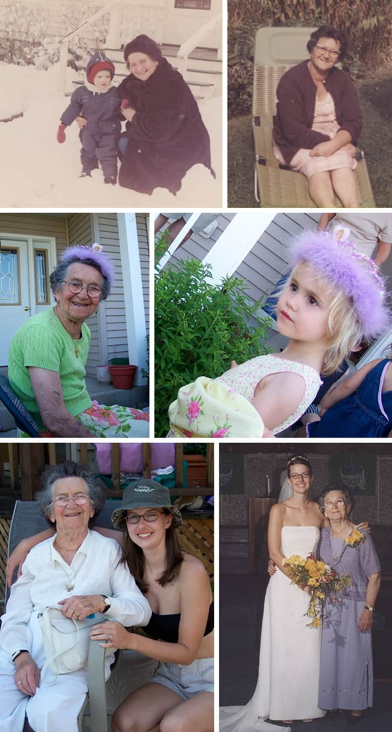 After my grandfather passed, my Grandma Gertrude — who took her diabetes seriously — lived to the ripe old age of eighty-nine. She was here to wear princess tiaras and goof with our kids.
