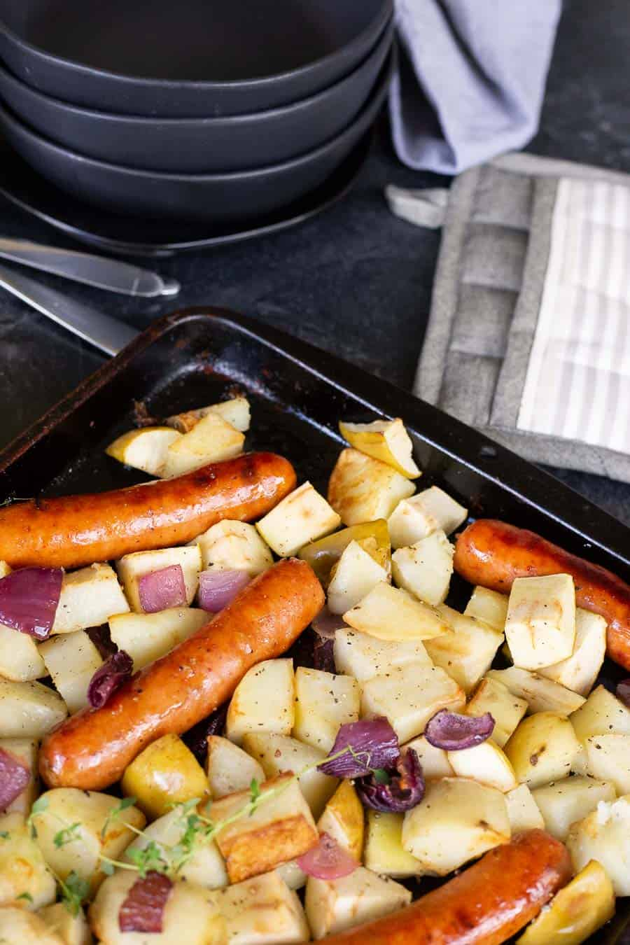 You Need to Know This Easy Sausage-&-Potato Bake Recipe