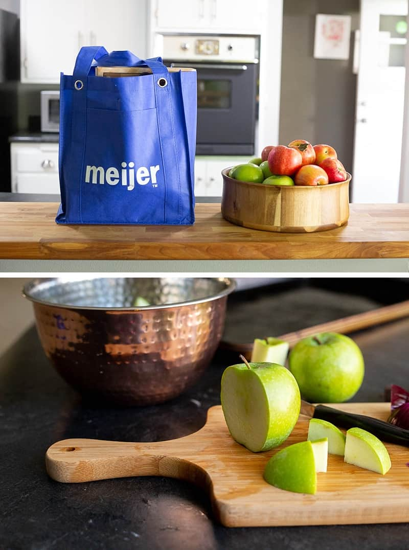 We shop local at Meijer for ingredients for this Sausage And Potatoes Bake recipe