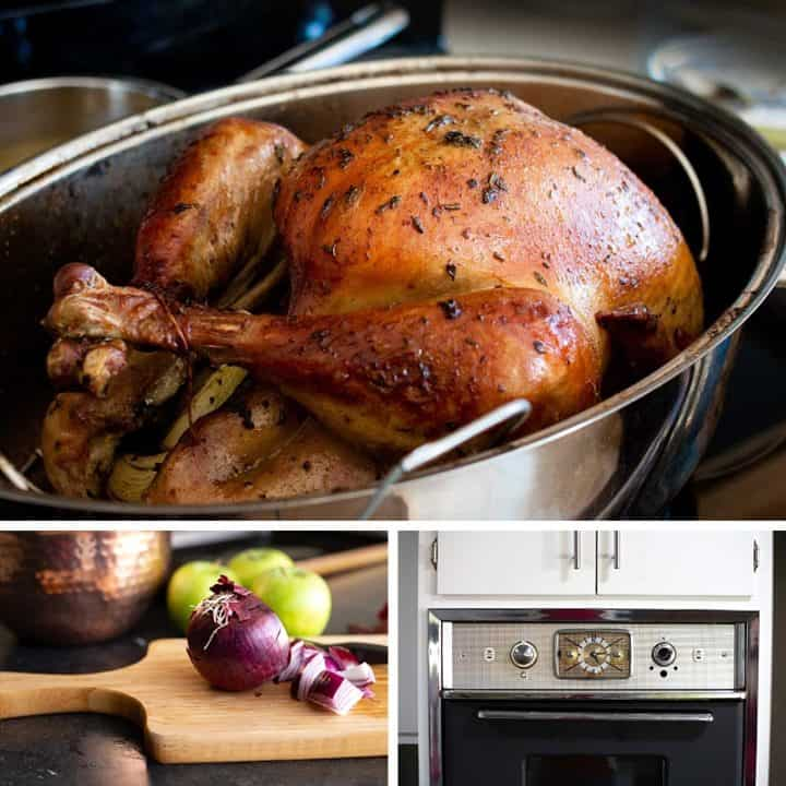 Don't be a slave to the bird! Easy tips for simplifying Thanksgiving. #thanksgiving #turkeyrecipe #thanksgivingturkey #recipe #turkey *This sounds so good. Great list of hosting tips!