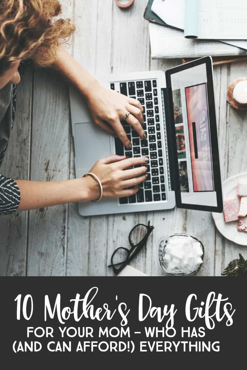 Gifts For Mom — 10 Unique Mother's Day Gifts for YOUR Parents Who Have (And Can Afford!) Everything #mothersday #giftsformom *Loving this entire list of Mother's Day gift ideas