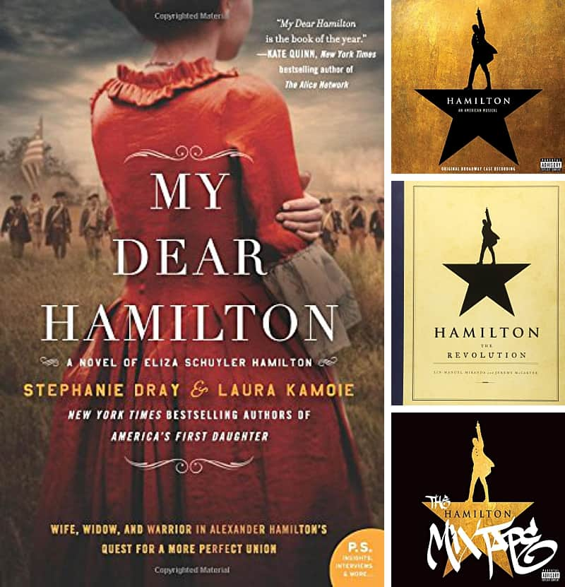 Want to give your teen Hamilton tickets as a birthday or holiday gift? Write a personal note inside of a book or CD cover and wrap! They'll be estatic. #hamilton #teengifts #gifts *Love this post on ways to make seeing Hamilton with your teen memorable!