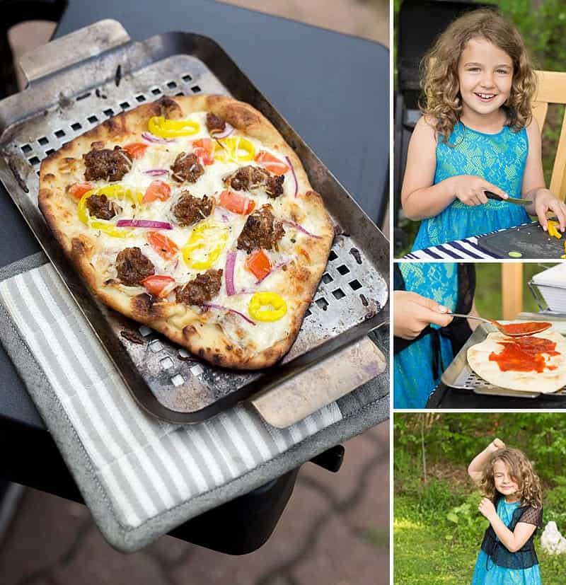 Simple Pizza Party - Mini Naan bread is the key to a super-simple personalized pizza party. Keep it simple — marinara, pepperoni, and cheese make most kids smile! #summerfun #takebacksummer #pizzaparty #kidsactivities *Love this collection of everyday summer activities for kids and parties! So fun.