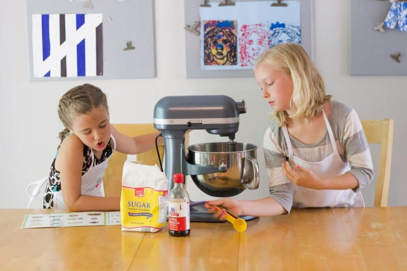 Milk & Cookie Party - Have the kids help make the cookie batter or buy a classic pre-made cookie log. Just invite them friends over for a slow afternoon of cookies & milk, and you've got a party.