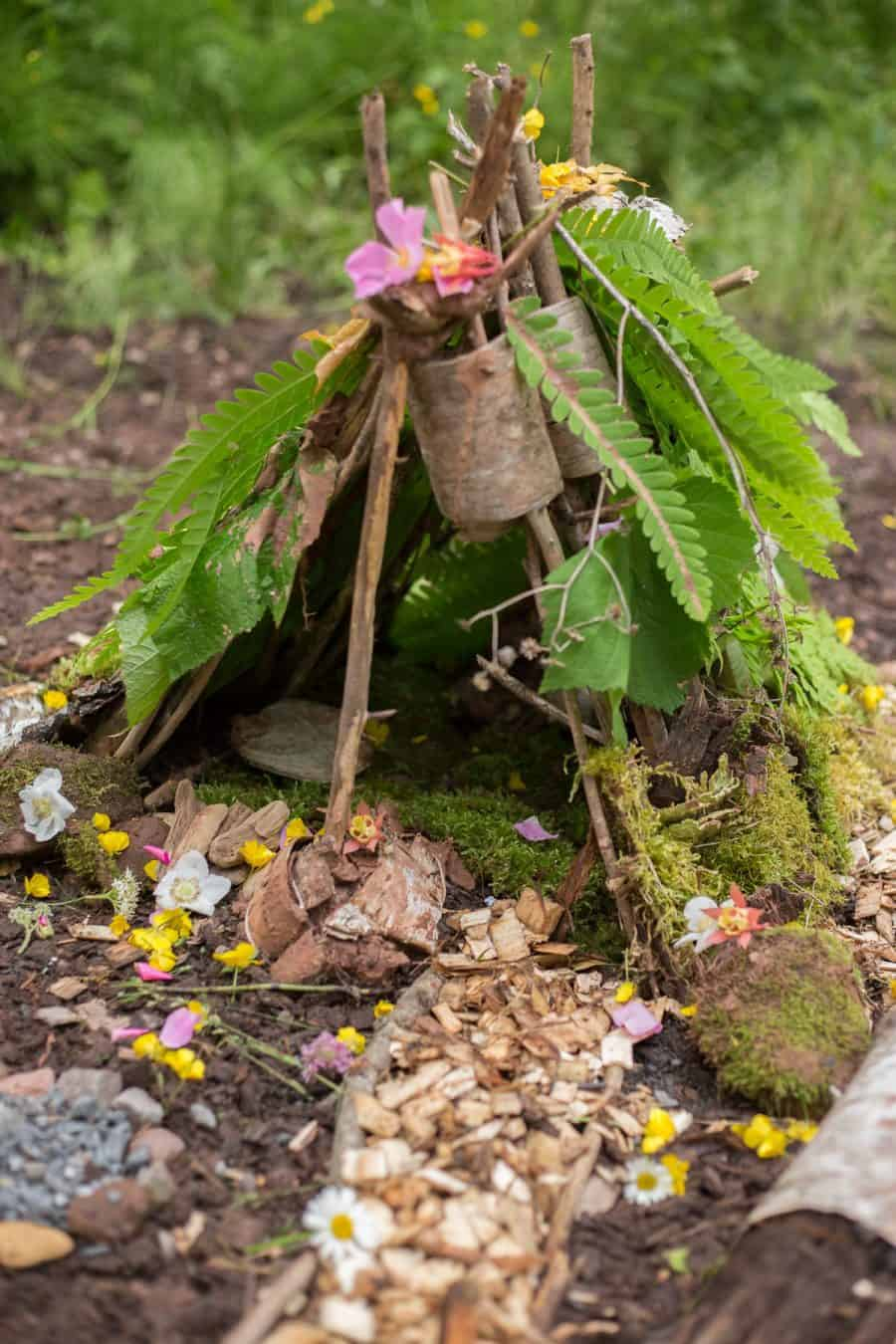 Fairy House Party - Head to your backyard, a local park, or even the beach to encourage the kids to build fairy houses.