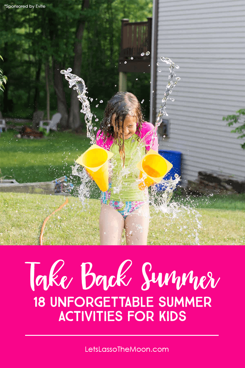 18 Simple But Unforgettable Summer Activities for Kids - Turn the Tables And Take Back Summer #kidsactivities #summerfun *Loving this list of summer bucket list ideas for families!