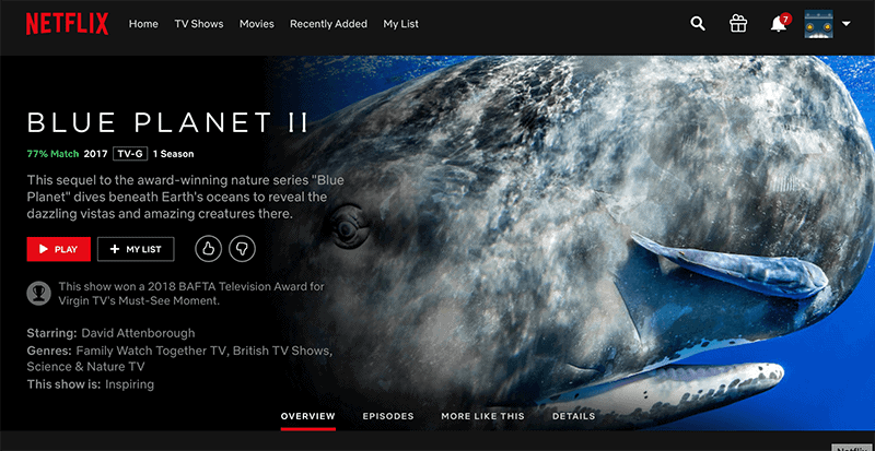 Got Netflix or Amazon Prime? There are some amazing online documentaries for kids available. Below is a list of ten of THE BEST educational documentaries and series streaming right now! #documentaries #educational #blueplanet *Blue Planet is awesome
