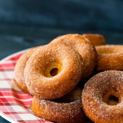 Baked Apple Cider Donuts — Make Breakfast Special With These Baked Donuts!