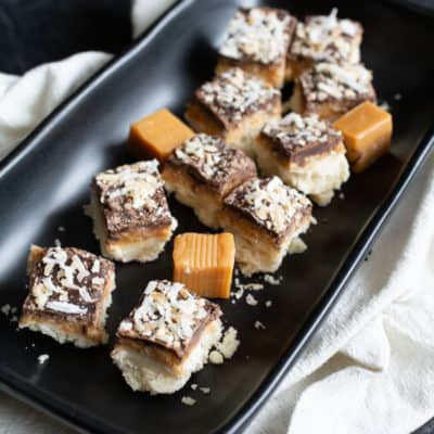 THE BEST Coconut Chocolate Bar (Video) + 20 Cookie Bars That Are Quick and Easy Desserts For a Crowd