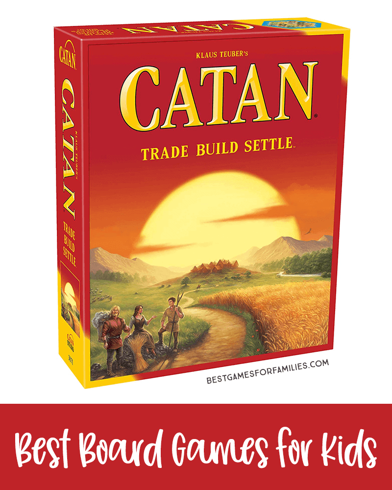 The BEST Parent-Tested Board Games for Kids of Every Age - There is a reason Catan is popular and has won so many awards. While it is appealing to experienced gamers, it is also easy to learn, making Catan accessible for families who are new to strategic gaming. In other words, it is fun for geeks and newbies alike. *Loving this list of ideas for family game night!
