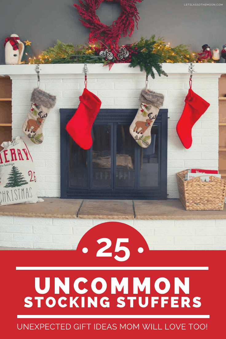 Fireplace and stocking stuffers for kids